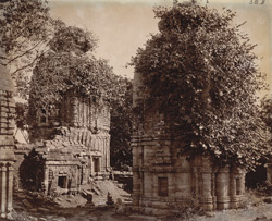 General view of Temples Nos. 6 and 8, Telkupi, Manbhum District.